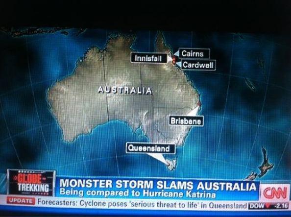 CNN et Faux News, experts géographes